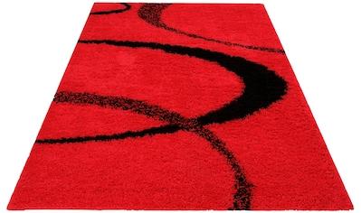 Hochflor - Teppich, »Ankara«, my home, rechteckig, Höhe 52 mm, maschinell gewebt kaufen