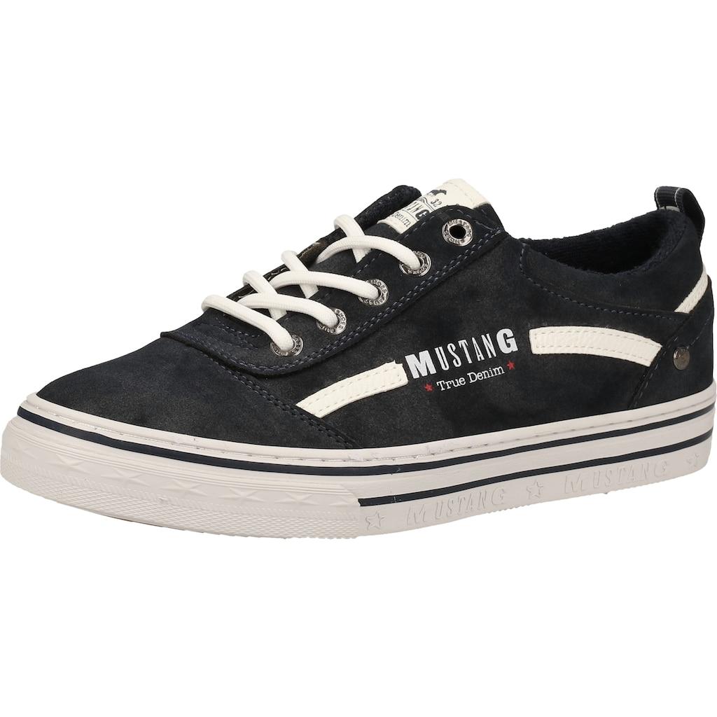 MUSTANG Sneaker »Lederimitat«