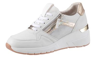 TOM TAILOR Keilsneaker, mit Kontrastbesätzen kaufen