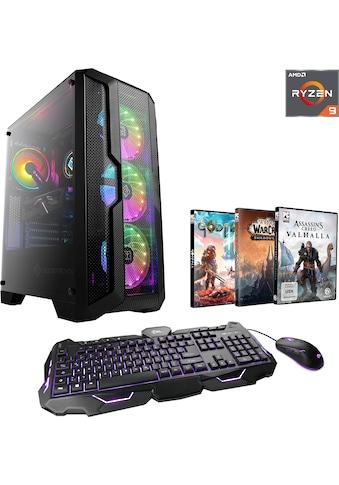 CSL »Ultimate AMD T8610« Gaming - PC (AMD, Ryzen 9, RX 5700 XT, Wasserkühlung) kaufen