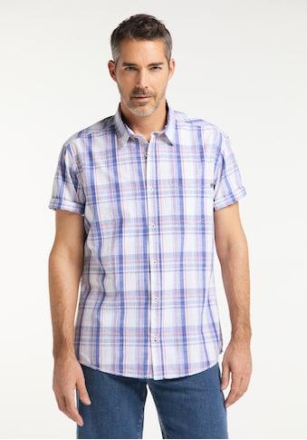 Pioneer Authentic Jeans Herrenhemd Karo Regular Fit kaufen