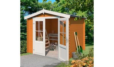 NORDIC HOLZ Gartenhaus »Houston«, BxT: 324x312 cm kaufen