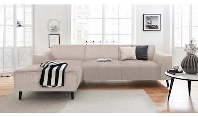 DOMO collection Ecksofa »Amora«, mit Recamiere, inklusive komfortablem Federkern kaufen