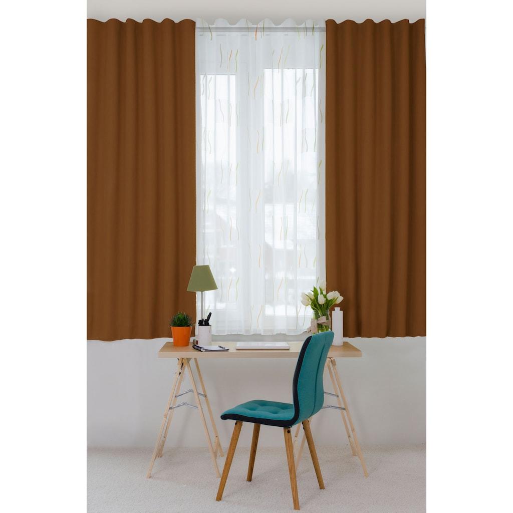 HOMING Vorhang »Galdin«, Vorhang Galdin