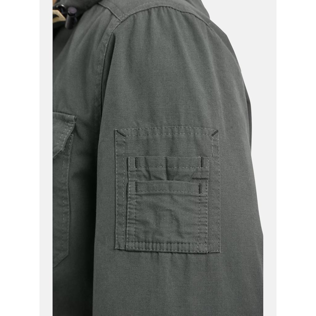 Jan Vanderstorm Fieldjacket »HERLEIF«, robuster Baumwoll-Canvas