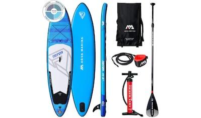 "Aqua Marina Inflatable SUP - Board »""Stand Up Paddling TRITON""« kaufen"