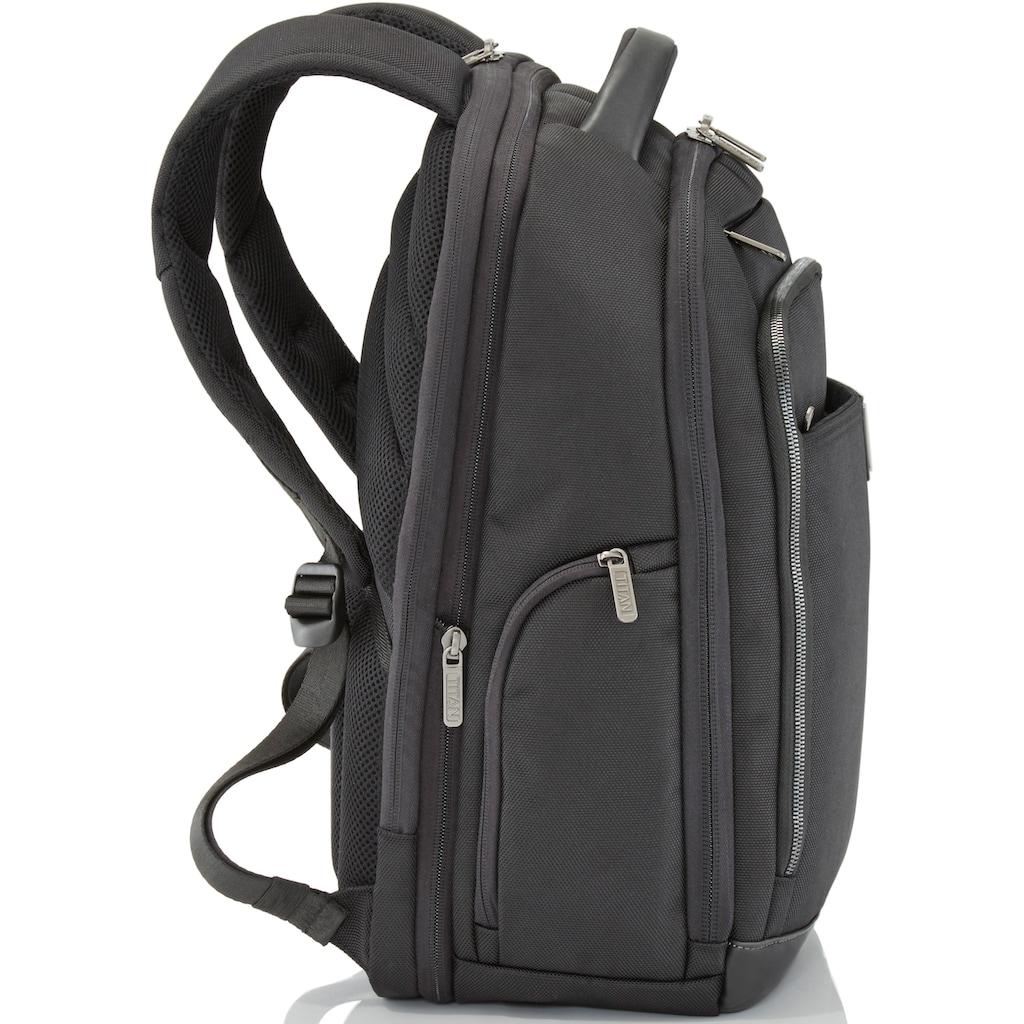 TITAN® Laptoprucksack »PowerPack, 46«, mit Dehnfalte