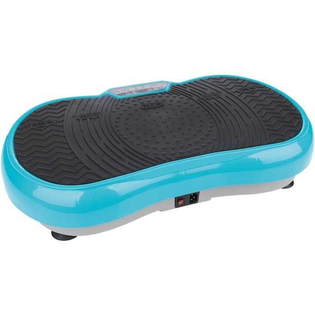VITALmaxx Vibrationsplatte »200 W«, 200 W, 99 Intensitätsstufen, (Set, 4 tlg., mit Trainingsbändern)