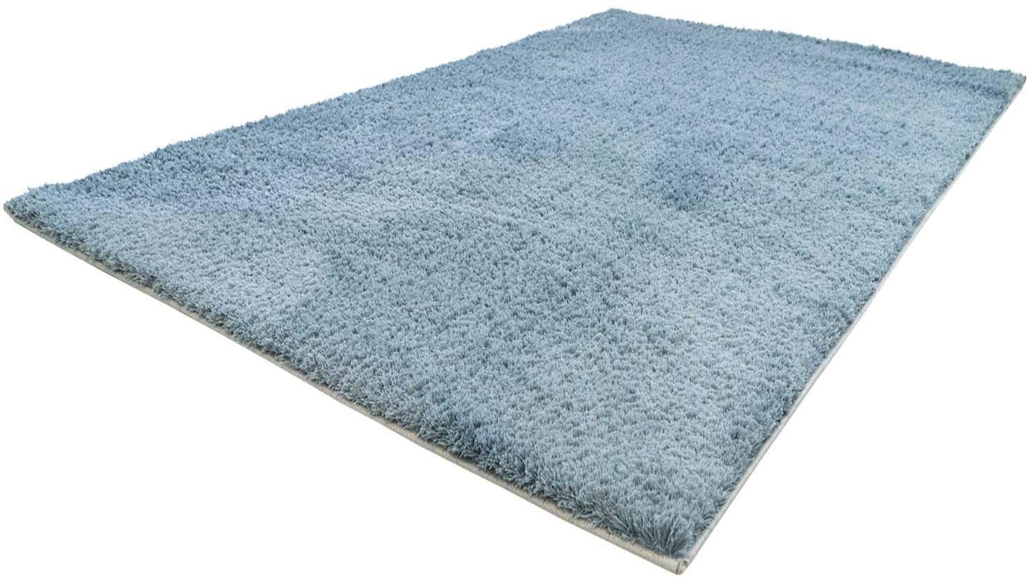 Hochflor-Läufer Softshine 2236 Carpet City rechteckig Höhe 30 mm maschinell gewebt