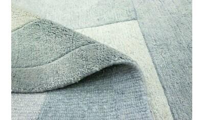 morgenland Wollteppich »Nepal Teppich handgeknüpft grün«, rechteckig, 18 mm Höhe,... kaufen