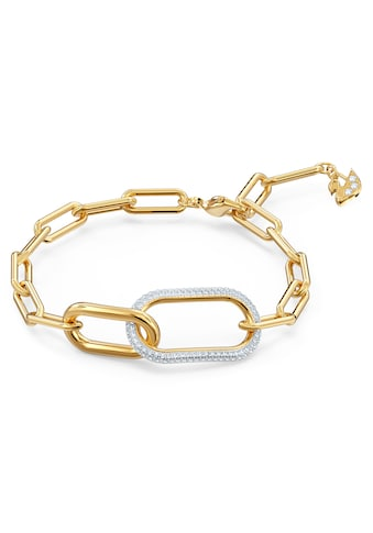 Swarovski Armband »Time, weiss, Metallmix, 5566003«, mit Swarovski® Kristallen kaufen