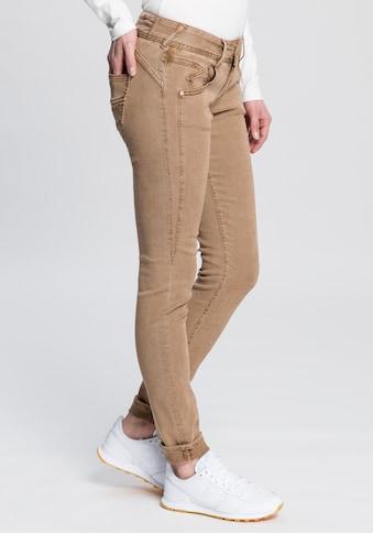 Herrlicher Slim-fit-Jeans »GILA SLIM«, mit seitlichem Keileinsatz kaufen