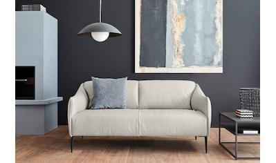 W.SCHILLIG 2,5-Sitzer »sally«, mit Metallfüßen in Schwarz pulverbeschichtet, Breite... kaufen