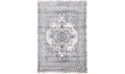 carpetfine Teppich »Suna«, rechteckig, 8 mm Höhe, Vintage Look, Seiden-Optik, Wohnzimmer kaufen