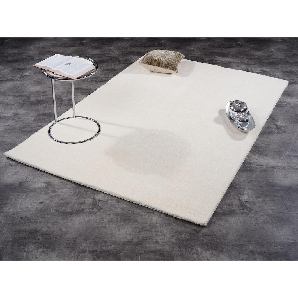 GALLERY M Hochflor-Teppich »Solo«, rechteckig, 30 mm Höhe, besonders weich durch Microfaser, Wohnzimmer