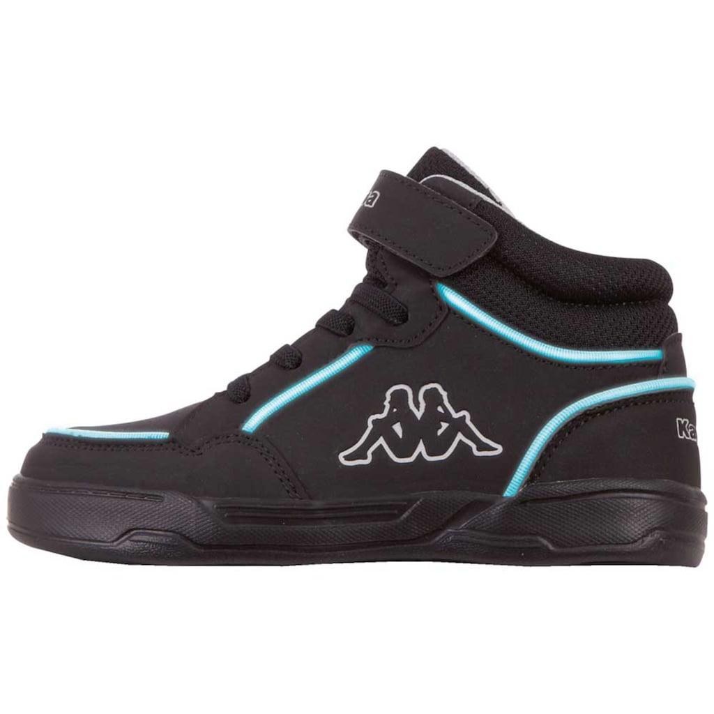 Kappa Sneaker »STIC HIGH KIDS«, in kinderfußgerechter Passform