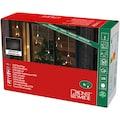 KONSTSMIDE LED-Lichtervorhang, mit 8 Plexisternen und warmweißen Dioden