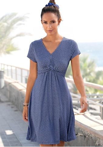 Vivance Jerseykleid, mit geometrischem Print kaufen