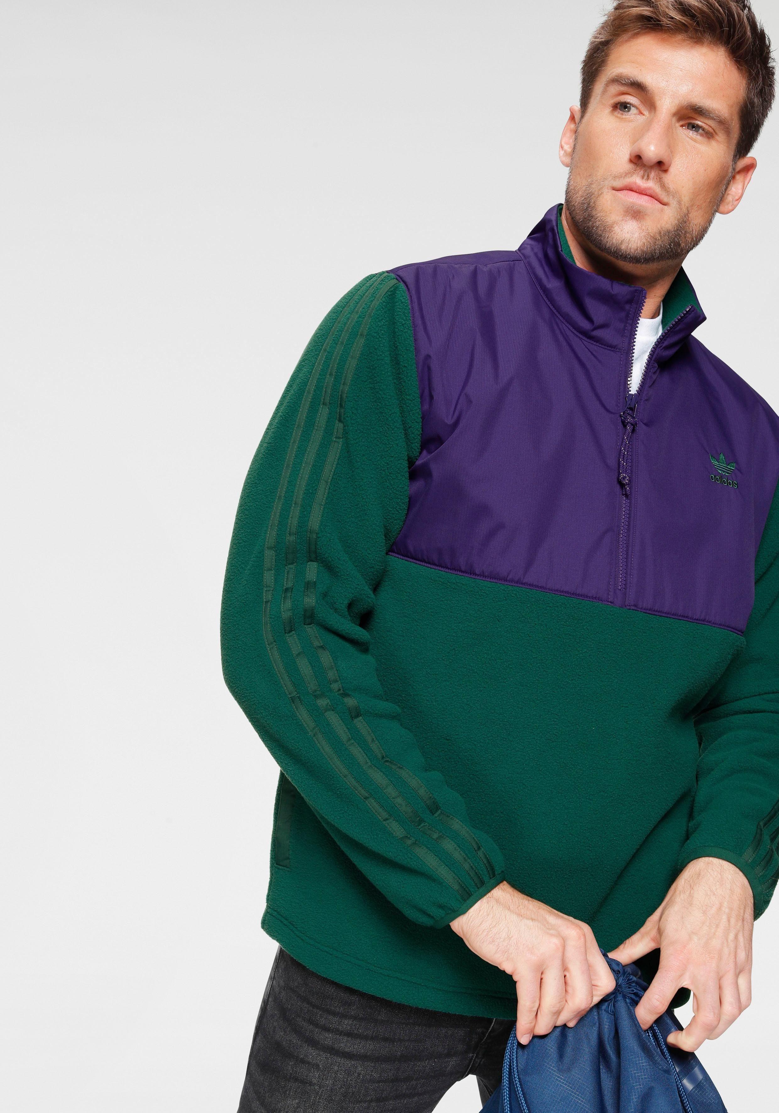 adidas Originals Fleeceshirt WINTERIZED HALF-ZIP TOP   Bekleidung > Pullover > Fleecepullover   adidas Originals