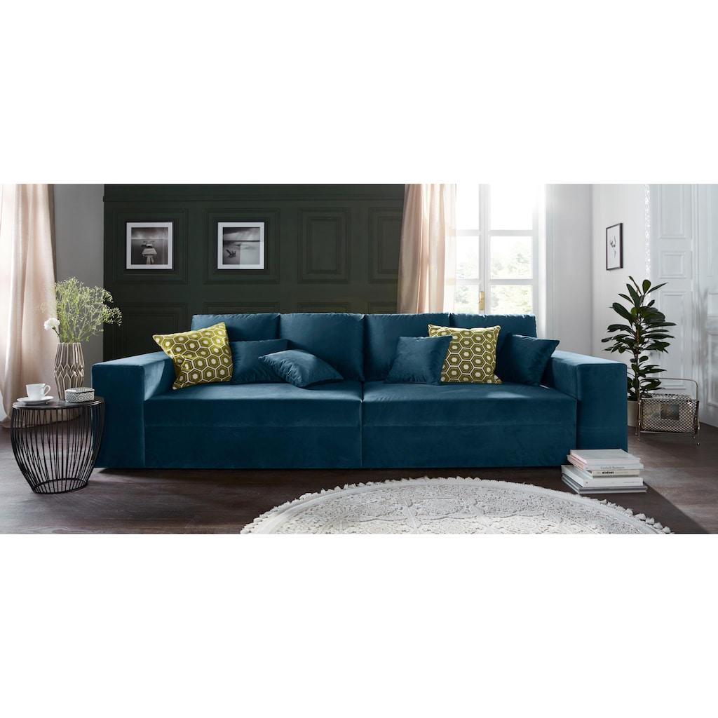 Nova Via Sofa, wahlweise mit Kaltschaum (140kg Belastung/Sitz) und Bettfunktion