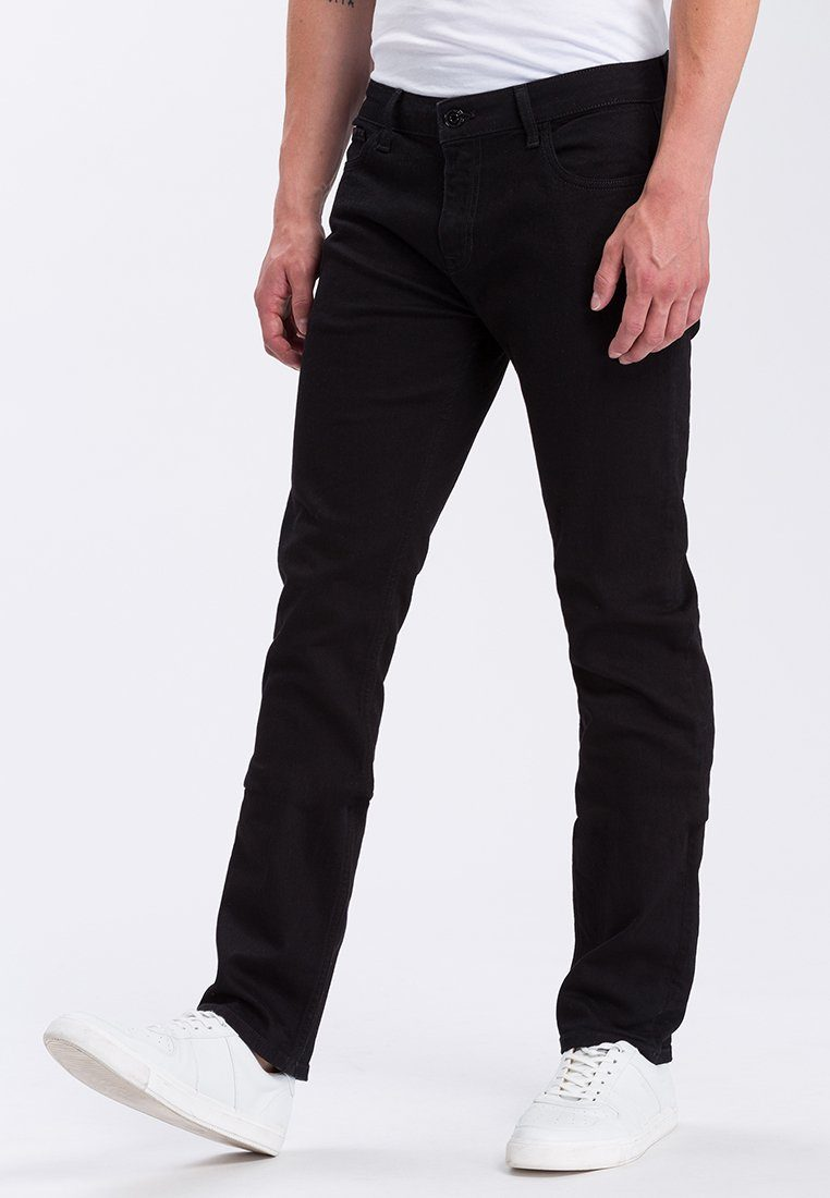 Cross Jeans® Slim-fit-Jeans »Johnny« | Bekleidung > Jeans > Slim Fit Jeans | Schwarz | Jeans | CROSS JEANS®