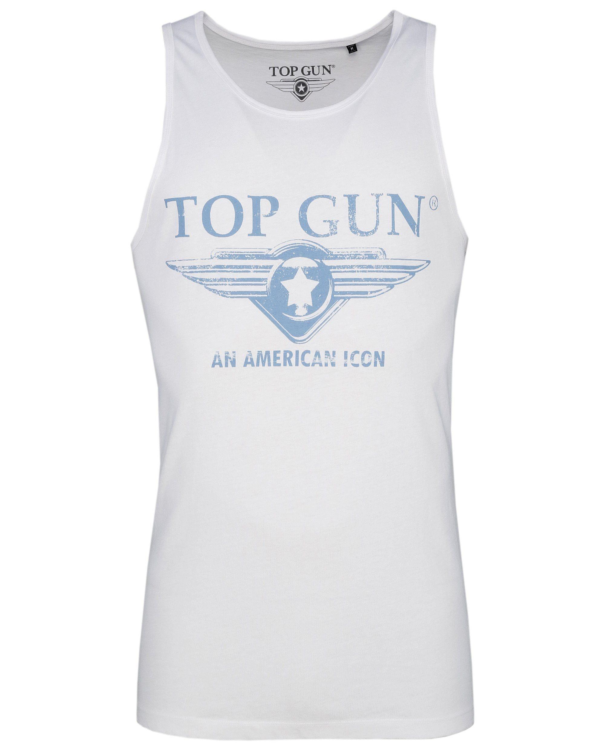 TOP GUN Muscleshirt Pray blau Herren Tank Tops Shirts