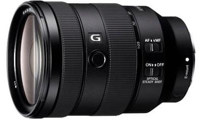 Sony Objektiv »SEL-24105G E-Mount Vollformat G«, E 85mm F1.4, OSS, APS-C kaufen