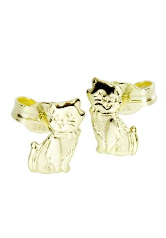 OSTSEE - SCHMUCK Paar Ohrstecker »Katze Gold 333/000 ,« kaufen