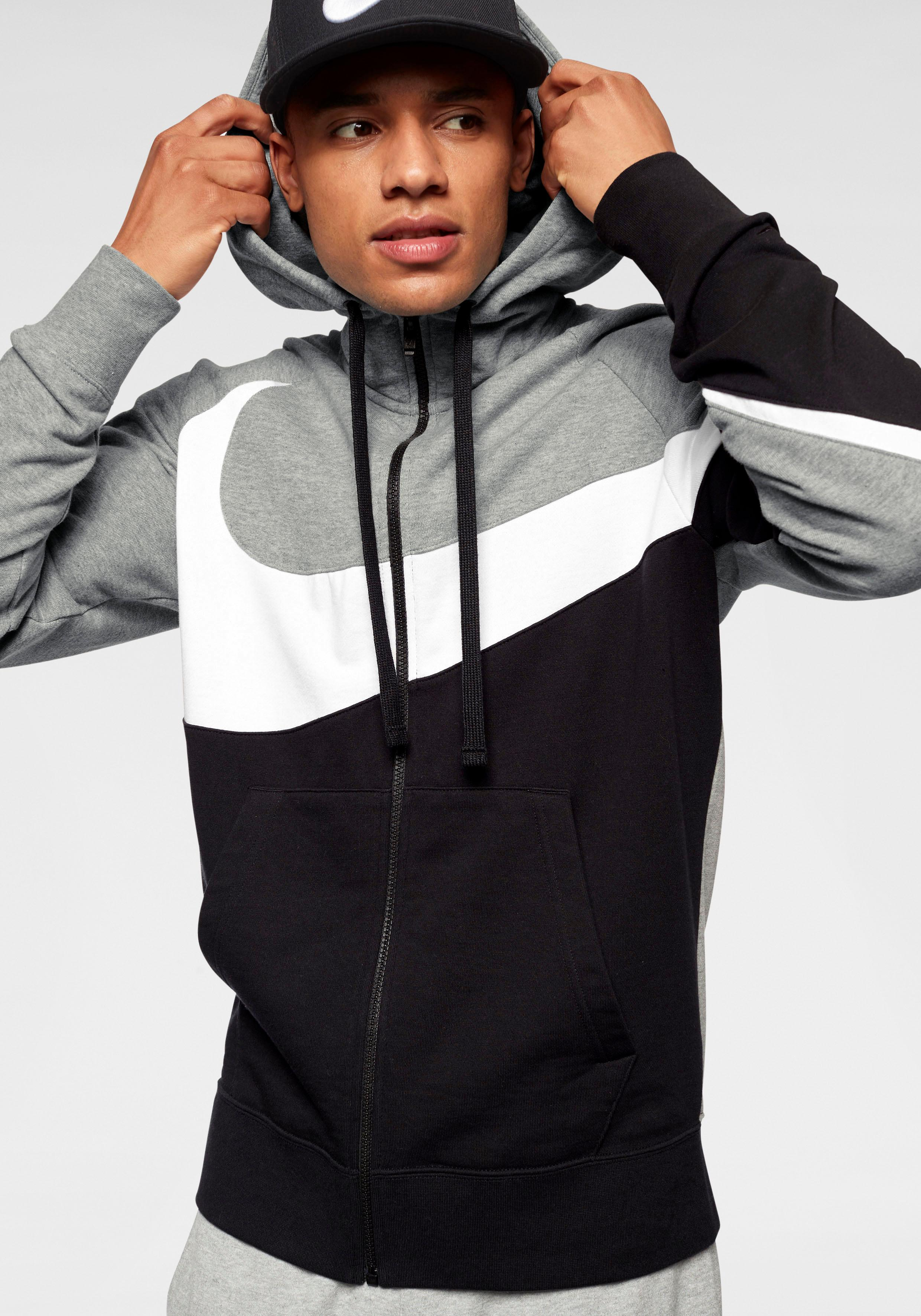 Nike Sportswear Kapuzensweatjacke MEN NIKE SPORTSWEAR HOODIE   Sportbekleidung > Sportjacken > Sonstige Sportjacken   Grau   Nike Sportswear