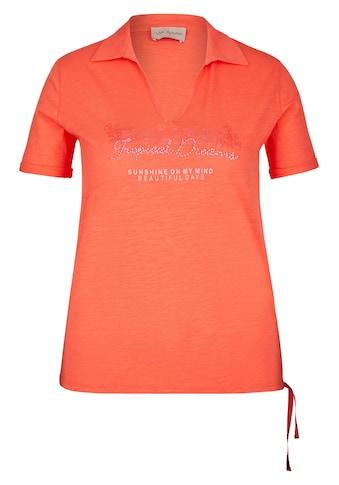 VIA APPIA Sportives Shirt im Polo-Stil kaufen
