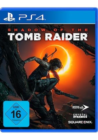 Shadow of the Tomb Raider PlayStation 4 kaufen