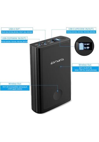 4smarts Batterie-Ladegerät »Powerbank VoltHub Graphene 20000mAh/100W« kaufen