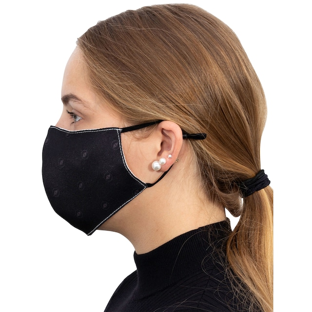 Packung: Community-Maske »TERRAX«, schwarz, 10 Stück, waschbar