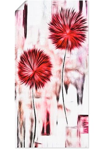 Artland Wandbild »Blumen«, Blumen, (1 St.), in vielen Größen & Produktarten - Alubild... kaufen