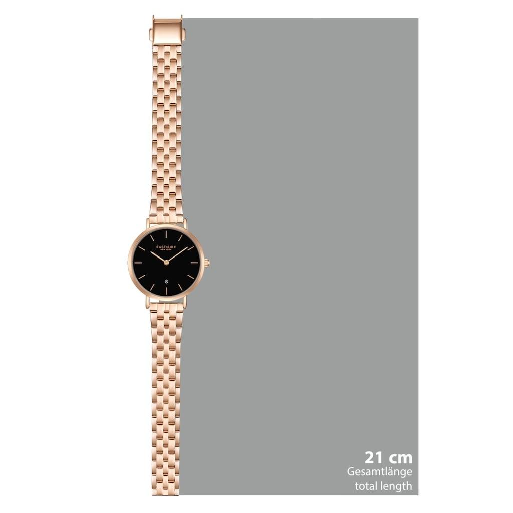 Eastside Quarzuhr »ES335«, (1 tlg.), mit Edelstahl-Armband