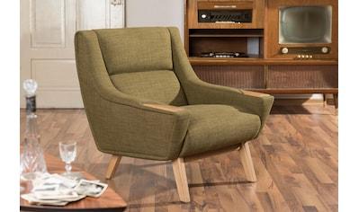 Max Winzer® Sessel »Heddy«, mit Ablagen aus Holz kaufen