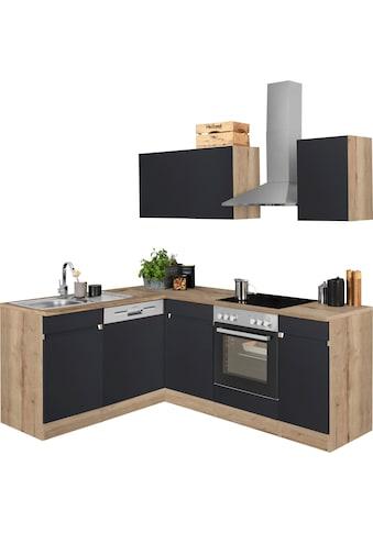 OPTIFIT Winkelküche »Roth«, ohne E-Geräte, Stellbreite 210 x 175 cm kaufen