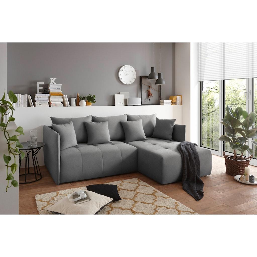 Home affaire 3-Sitzer »Mateo«, mit Bettfunktion und Bettkasten