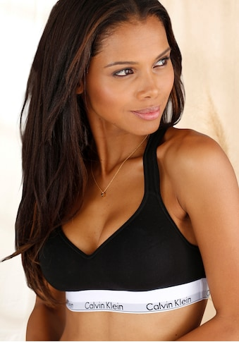 Calvin Klein Bralette »Modern Cotton«, mit gekreuzten Trägern hinten kaufen