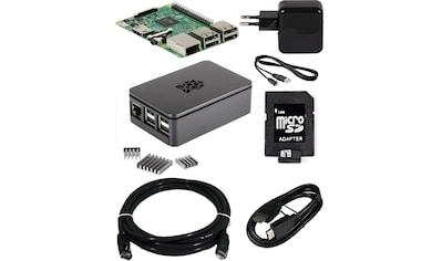 Raspberry Pi Foundation PC - System »Pi 3 + Gehäuse s + NT + 16GB + 2m HDMI + Kühlk.« kaufen