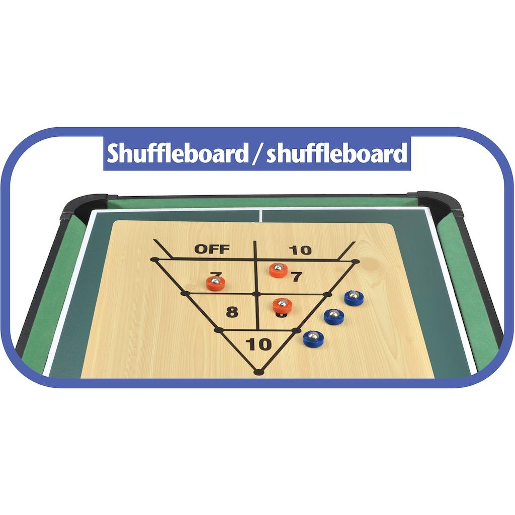 Carromco Multifunktionstisch »Multifun XT 14 in 1«, mit 14 Spielen