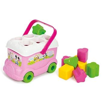 """Clementoni® Steckspielzeug """"Baby Minnie Sortierbus"""" (10 - tlg.) kaufen"""