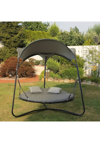 Leco Gartenliege »Luxusschaukelbett Mareike«, mit verstellbarer Rückenlehne kaufen