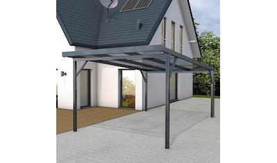 GUTTA Einzelcarport »Premium«, Aluminium, 293,4 cm, anthrazit, BxT: 309x562 cm, Dacheindeckung Acryl bronce kaufen