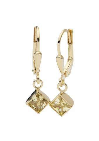 OSTSEE - SCHMUCK Paar Ohrhänger »Anna 5x5 mm Gold 333/000 Zirkonia« kaufen