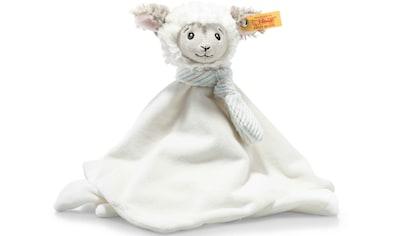 Steiff Schmusetuch »Soft Cuddly Friends Lita Lamm«, mit Fingerpuppenfunktion kaufen