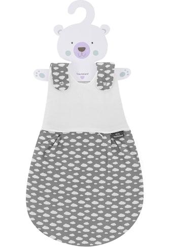Träumeland Babyschlafsack »3 tlg Set LIEMBICH, Design Wolke grau« kaufen