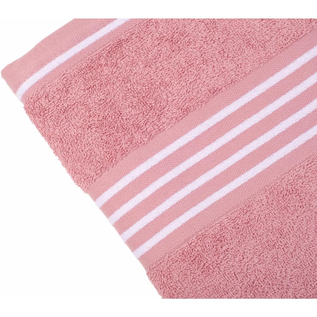 Gözze Handtücher »Rio«, (2 St.), mit frischer Streifenbordüre