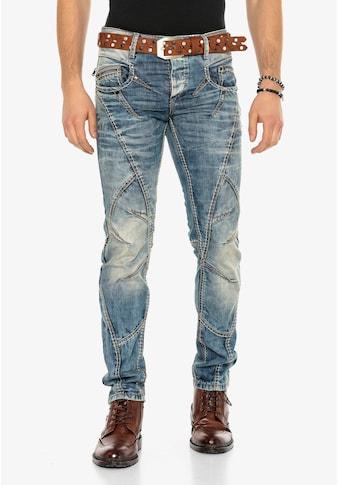 Cipo & Baxx Bequeme Jeans, mit dicker naht kaufen