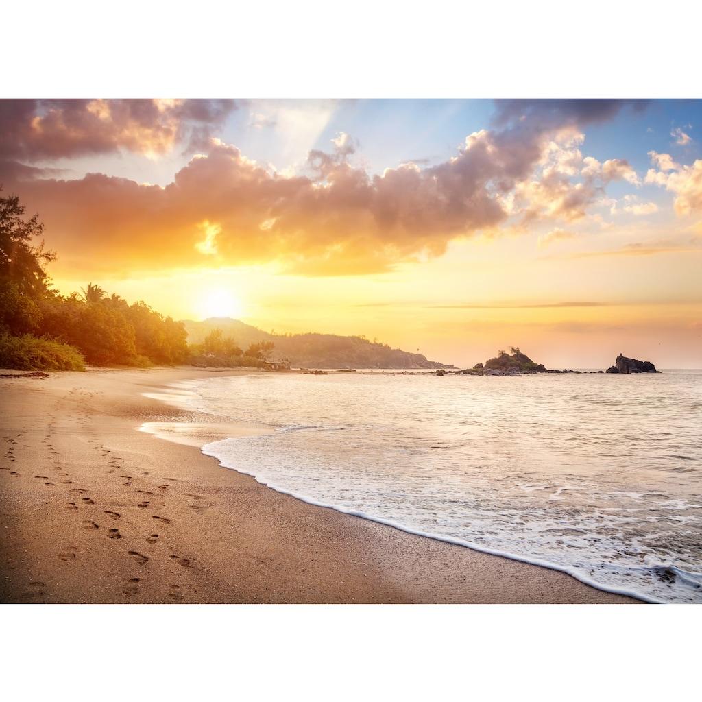 Papermoon Fototapete »Karnataka Beach«